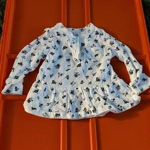 Carter's size 6 months shirt.
